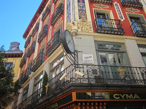 Calle Postas. Posada del Peine. Madrid