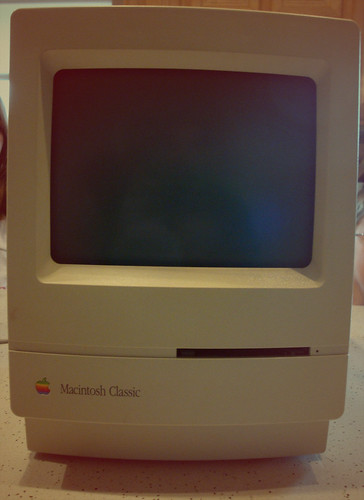 Old School Macintosh Classic (Found)