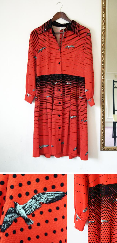 flock dress