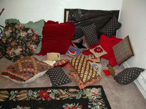 Cushions a-plenty