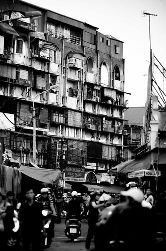 Hanoi, market Street