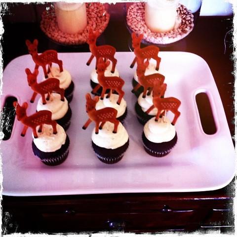 deer cupcakes!