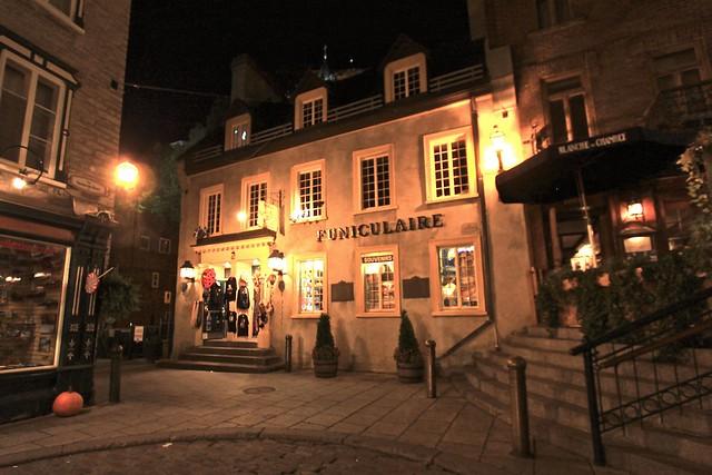 Funiculaire, Québec, Canada