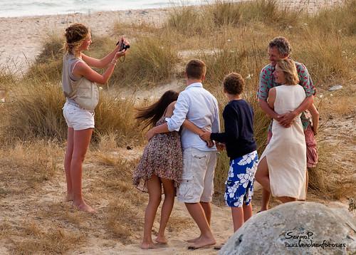 La familia feliz