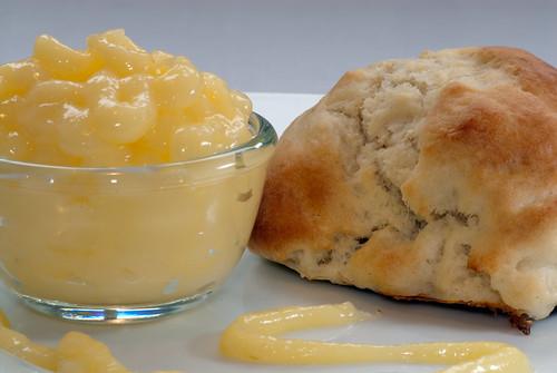 Lemon Curd and Scone
