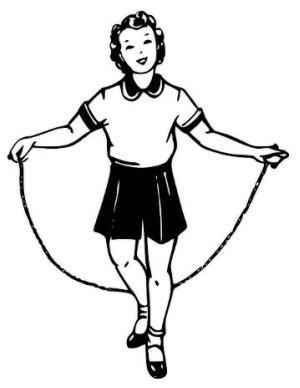 Aerodynamics of Jump Rope
