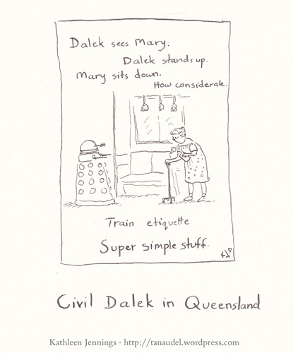 Civil Dalek in Queensland