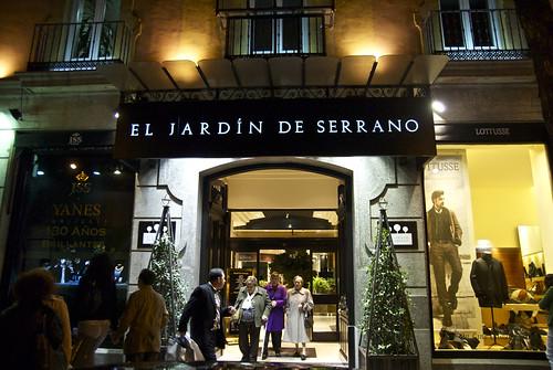 Zona retiro una tarde de compras con personal shopper for Jardin de serrano