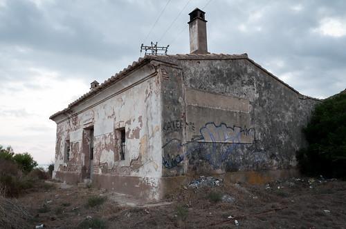 Caseta ferroviaria entre Oropesa y Benicassim