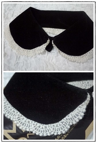 Murua Felt Lace collar