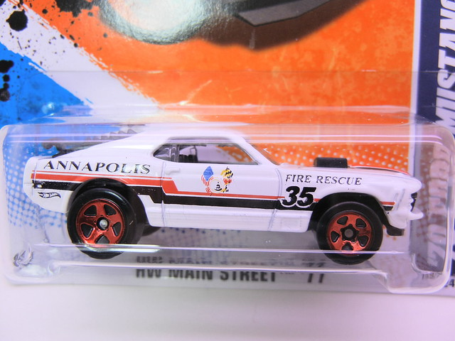 hot wheels '70's ford mustang mach 1 white (2)