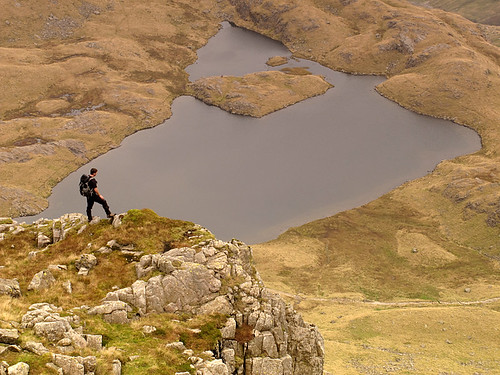 High above Sprinkling Tarn