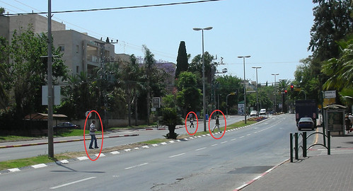 Crossing the Road in Israel