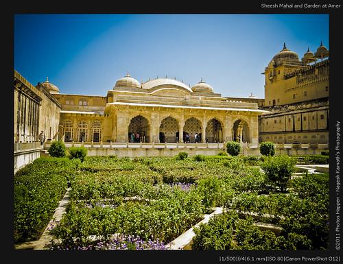 Sheesh Mahal and Garden at Amer