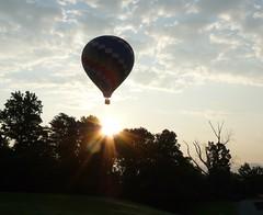 Floating toward the sun
