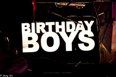 The Birthday Boys @ Live Lounge