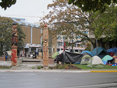 Occupy Victoria Still There Despite Order to Vacate by Tony's Outdoors