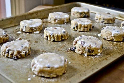 Cinnamon, Pecan, and Currant Cream Scones 12