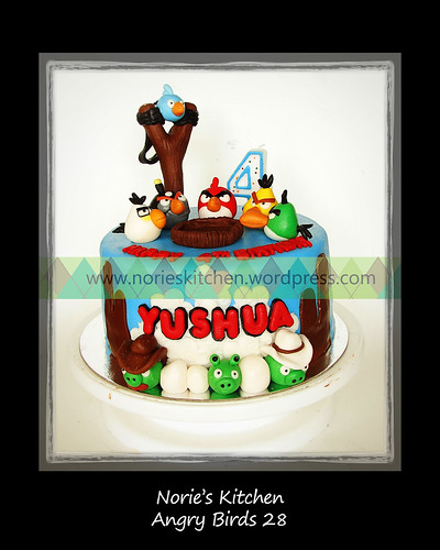 Norie's Kitchen - Angry Birds Cake 28 by Norie's Kitchen
