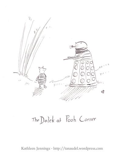 The Dalek at Pooh Corner