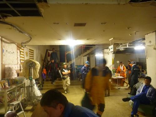 牡鹿VCに電気が来た, 牡鹿半島大原でボランティア Volunteer at Ohara, Oshika Peninsula, Miyagi pref. Deeply Affected Area by the Tsunami