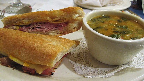 cuban and caldo gallego
