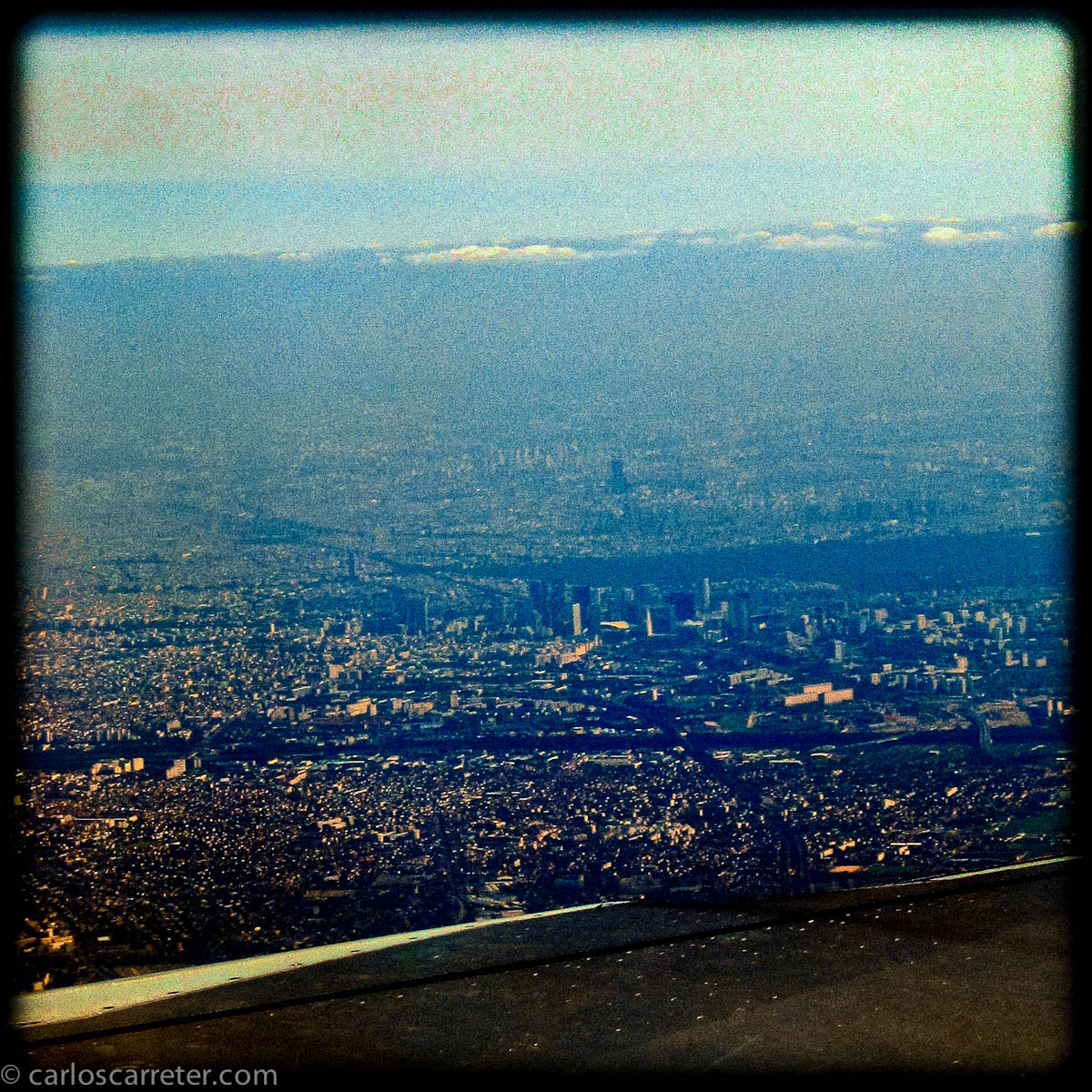 París desde el avión