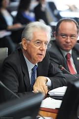 Mario Monti, President of Università Bocconi a...