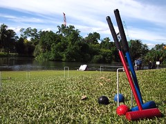 Croquet at Botanic Gardens