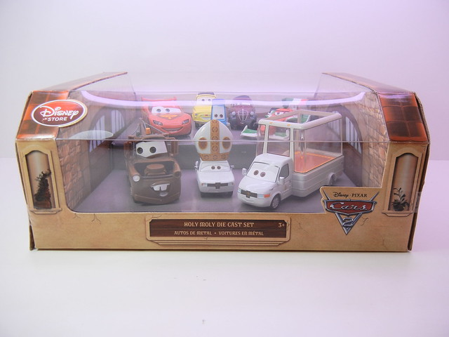disney store cars 2 holy moley diecast set (1)