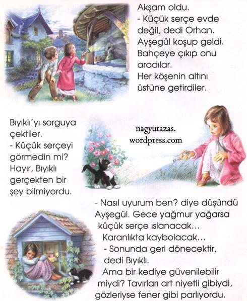 Mese törökül