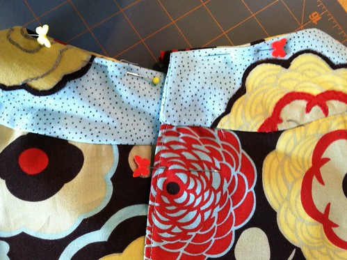back collar close up (hand applique)