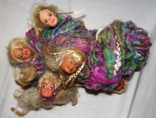Barbie zombie yarn 1
