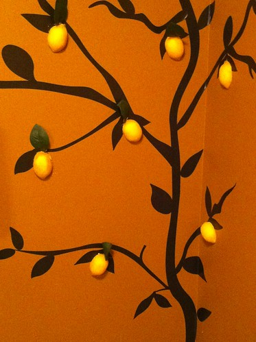 lemon mural