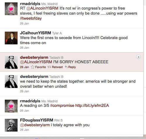 Tweet conversation 1 (w/RM)