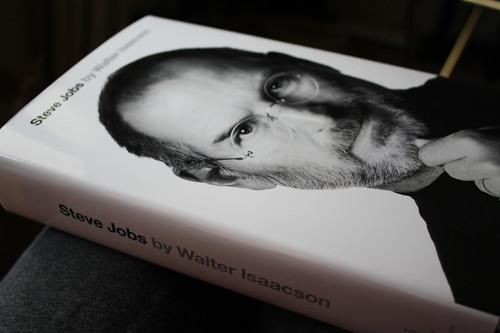 Steve Jobs biography from side