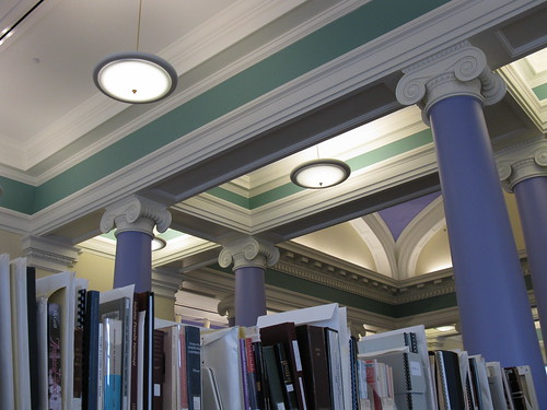 Muncie Public Library - Carnegie Library - interior2