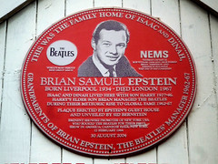 Brian Epstein Plaque Large