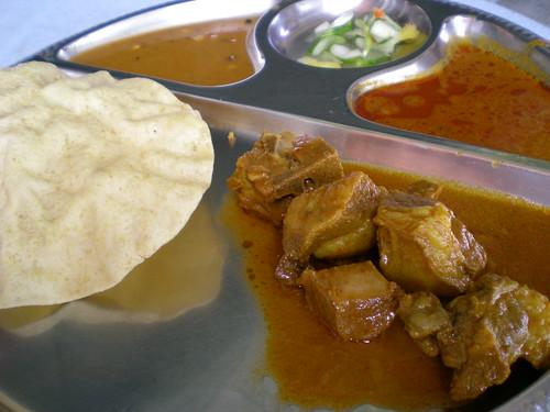 Nasi bryani mutton