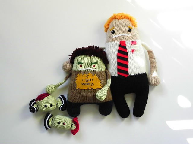 zombie candy & Shaun of the Dead monsters for swap