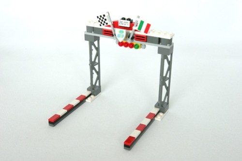 8423 World Grand Prix Racing Rivalry Gate