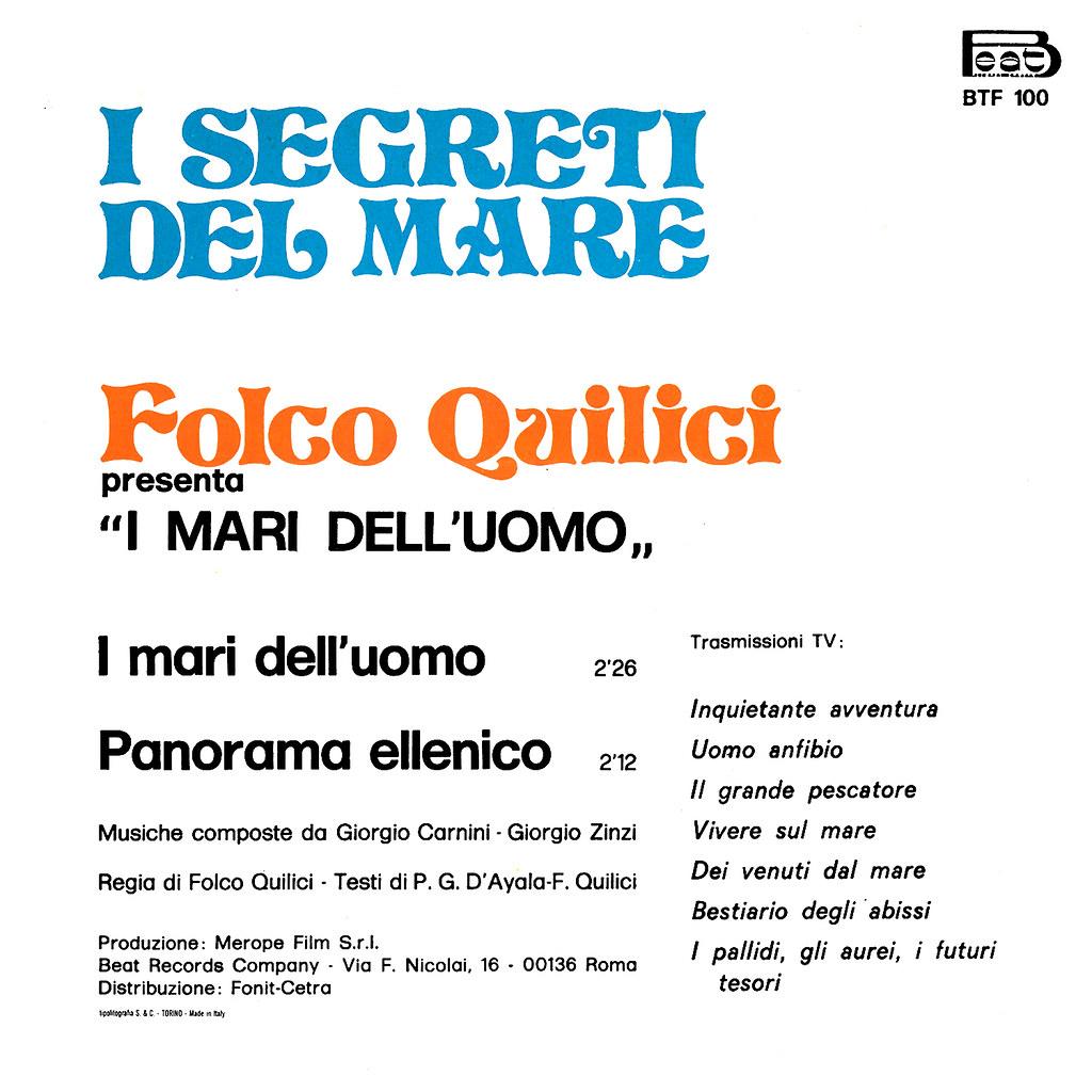Giorgio Carnini - Il segreto del mare