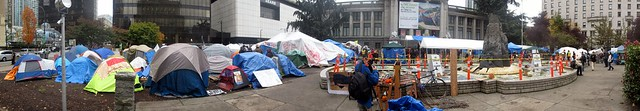 Occupy Vancouver Tent City