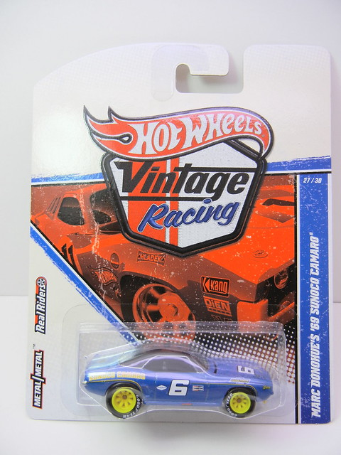 HOT WHEELS VINTAGE RACING MARC DONOHUE'S '69 SUNOCO CAMARO (1)