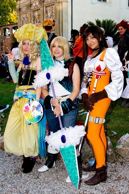Relm, Zidane, Dagger cosplay
