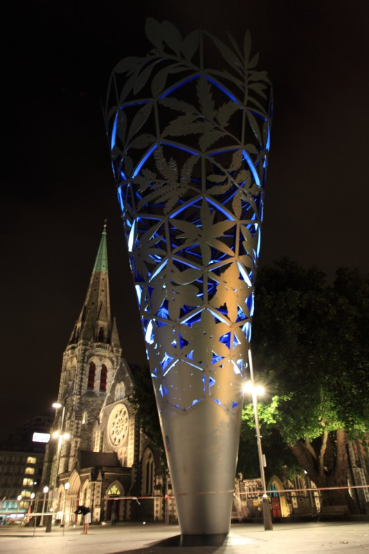 Chalice Sculpture and Christchurch