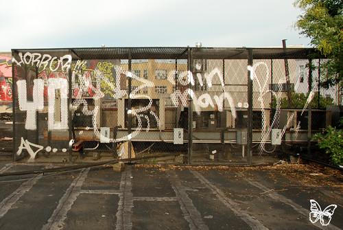 NY Rooftops: Skewville, Tek33 and Rainman