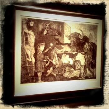Suite Vollard, Picasso
