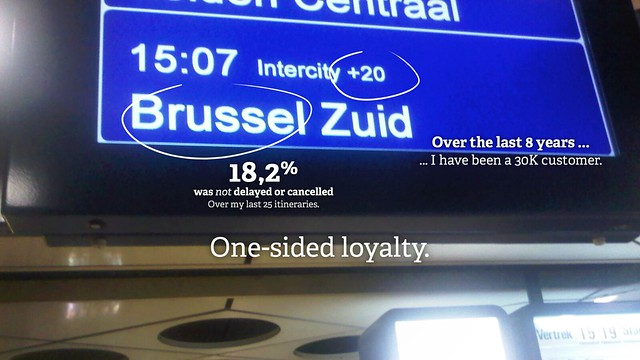One-sided loyalty: the NMBS and NS story