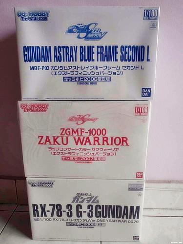 C3XHobby version astray blue frame - zaku warrior - rx-78-3